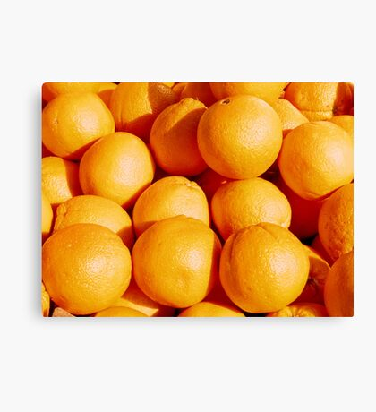 Food - oranges Canvas Print