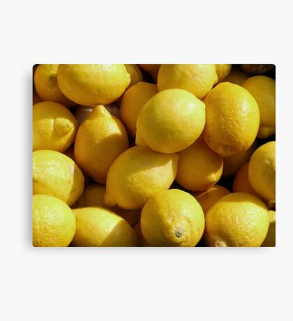 Food - lemons Canvas Print