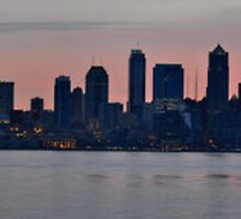 Seattle Panorama by DiamondCactus
