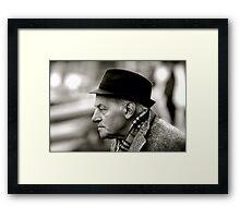 Venetian gentleman Framed Print