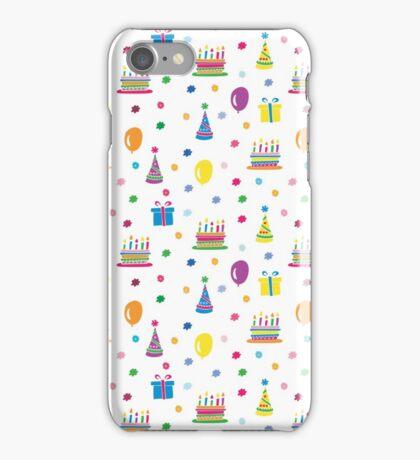 Birthday Cake Multi iPhone Case/Skin