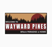 Welcome to Wayward Pines Kids Clothes