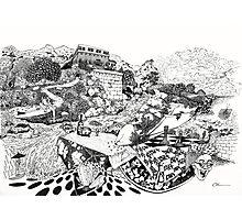 Fantasy Doodle Photographic Print