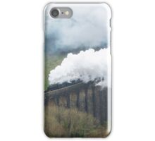 Steam Trains Cynghordy Viaduct Carmarthenshire iPhone Case/Skin