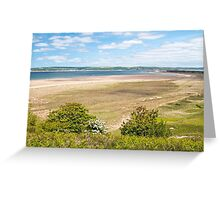 Whitford Sands Gower south Wales Greeting Card