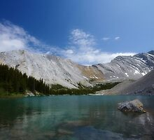 Rocky Mountain Vista, Third Picklejar Lake by EchoNorth