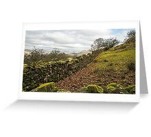 Orrest Head in the Lake District National Park Greeting Card