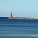 The Entry to Muskegon Harbor (Best when view larger) by BarbL