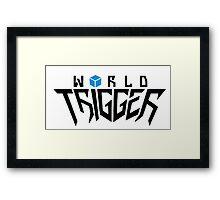 World Trigger! Framed Print