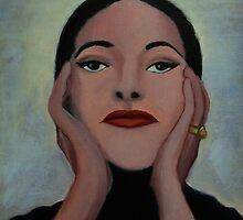 Maria Callas by Kostas Koutsoukanidis
