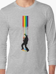 Somewhere Over the Rainbow - Someone's Getting Wet Long Sleeve T-Shirt