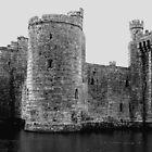 Bodiam Castle by Kim Slater
