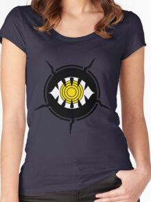 World Trigger - Neighborhood Emblem Women's Fitted Scoop T-Shirt