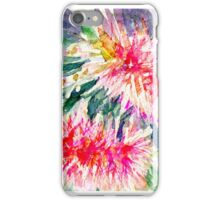 Pink Bottlebrush Rectangle iPhone Case/Skin