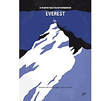 No492 My Everest minimal movie poster Photographic Print