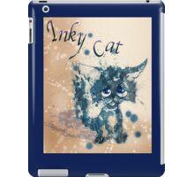 Inky cat iPad Case/Skin