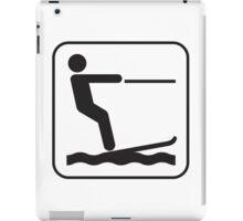 Water Ski iPad Case/Skin