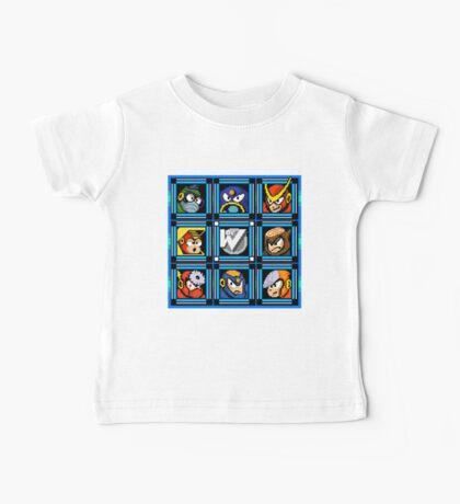 Megaman 2 Boss Select Baby Tee