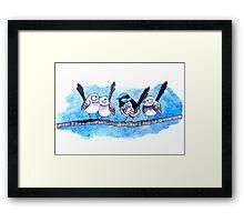 The Fairy Wren Framed Print
