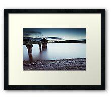 The Cropston Dash Framed Print