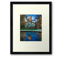 Spring Arrives In Madison Square Park Framed Print