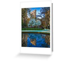 Spring Arrives In Madison Square Park Greeting Card