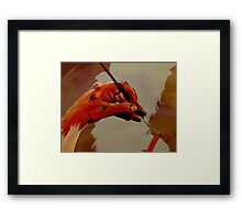 Hand Painted Painted Hand Painting Traditional Painting  Framed Print