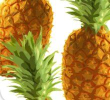 Pineapple pattern Sticker