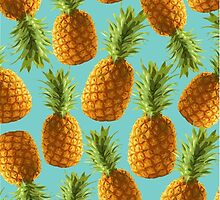 Pineapple pattern by MartaOlgaKlara