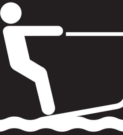 Water Ski Sticker