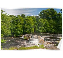 Upper Aysgarth Waterfall Yorkshire Dales Poster