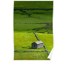 Barn Littondale Yorkshire Dales Poster