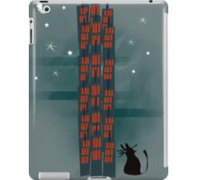 Animal's Nightlife - Urban Cat iPad Case/Skin