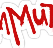Welcome to Commutiny Sticker