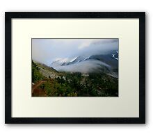 Encroaching Clouds Framed Print