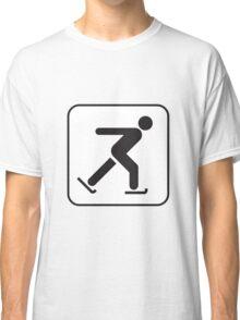 Ice Skate Classic T-Shirt