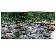 Aire River Cascades Poster
