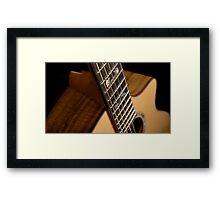 Breedlove USA NorthWest Custom  Framed Print