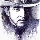 Stevie Ray Vaughan by Yuriy Shevchuk
