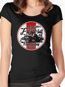 Furiosa trucking Women's Fitted Scoop T-Shirt
