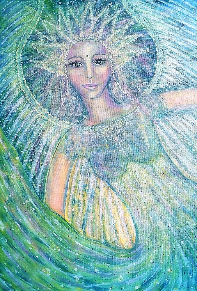 Healing angel love by Lilaviolet