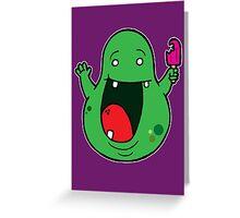 Slimer Greeting Card