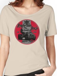 Imm. Joe's monster trucks Women's Relaxed Fit T-Shirt