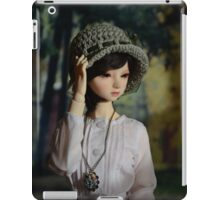 Looking into the distance iPad Case/Skin