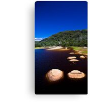 Tidal Rocks Canvas Print