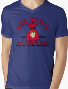Egg Shen's six demon bag Mens V-Neck T-Shirt