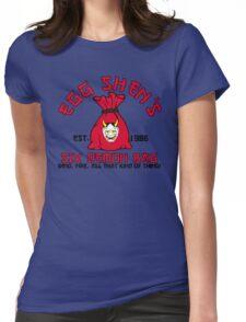 Egg Shen's six demon bag Womens Fitted T-Shirt