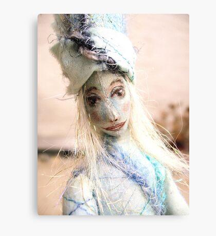 Blue doll Canvas Print