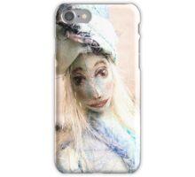 Blue doll iPhone Case/Skin