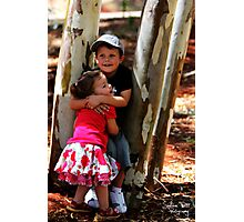 Sibling Love Photographic Print